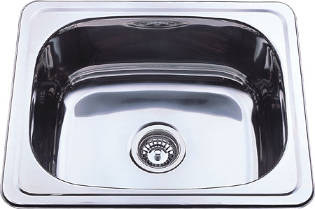 CETO 1B 555 stainless steel laundry sink