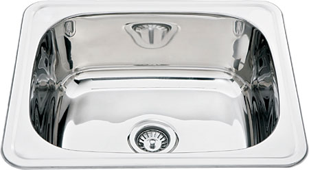CETO 1B 600BR stainless steel laundry bowl
