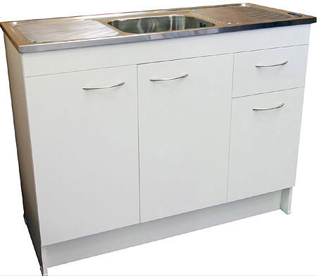 TOT1200 Sink Bench and Cabinet